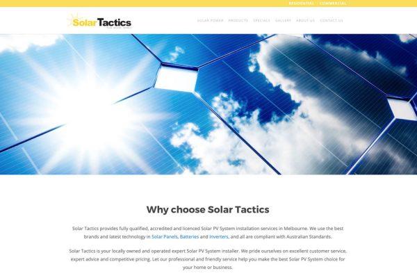 Solar Tactics